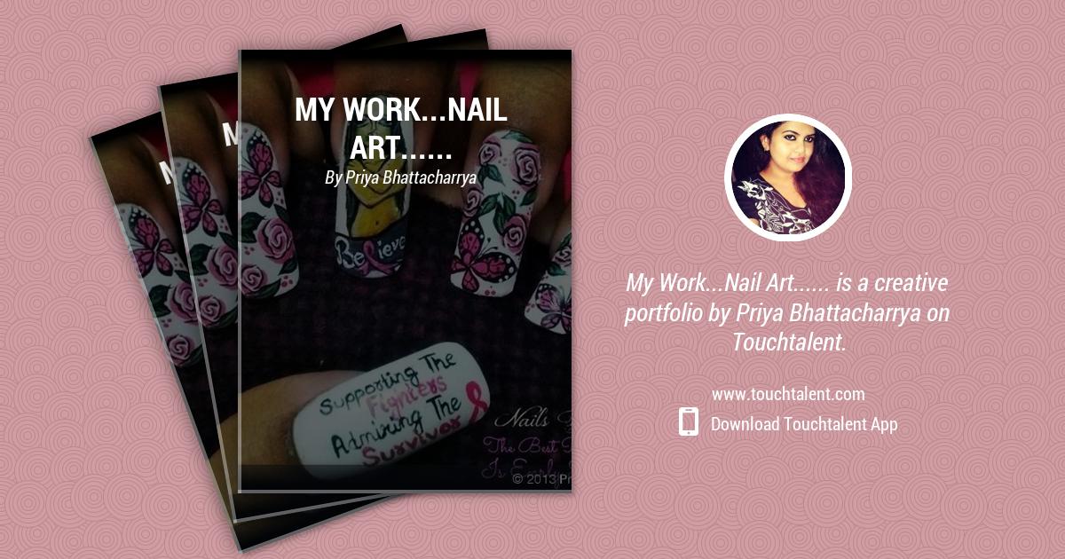 Nail Art By Priya by Priya Bhattacharrya