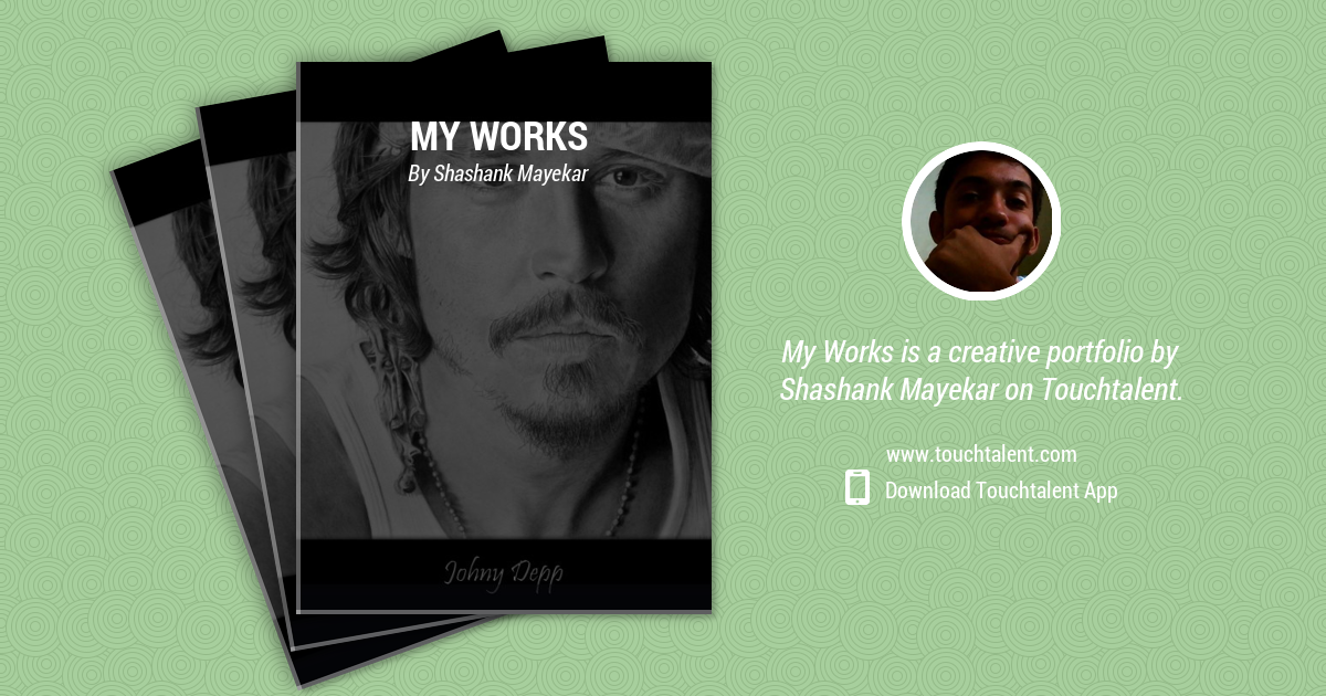 Johnny Depp by Shashank Mayekar