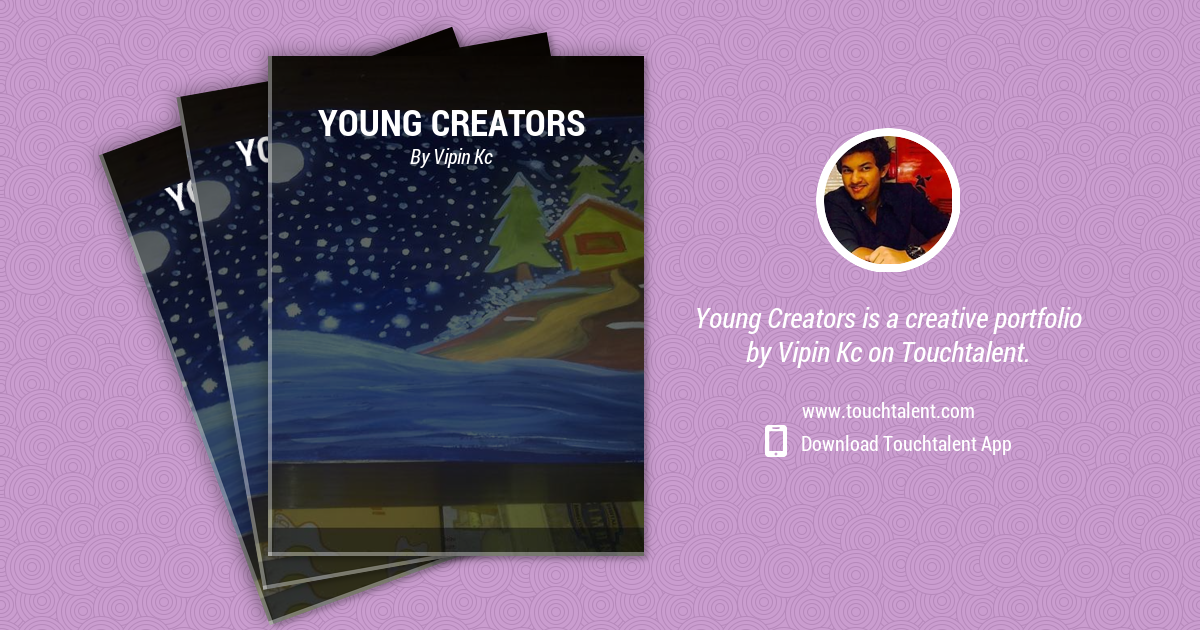 Christmas Card: Work With Young Creators by Vipin Kc